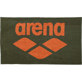 arena Pool Soft Towel army-tangerine